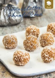 Rezept - Erdnussbutter-Schneebällchen - Simply Kreativ Superfood 01/2019