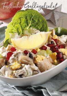 Rezept - Festlicher Geflügelsalat - Simply Kreativ Extra – Leckere Ideen für den Thermomix® 01/19