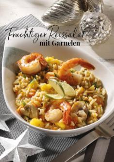 Rezept - Fruchtiger Reissalat mit Garnelen - Simply Kreativ Extra – Leckere Ideen für den Thermomix® 01/19