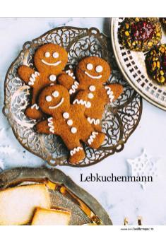 Rezept - Lebkuchenmann - Healthy Vegan 01/2019