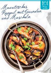 Rezept - Mauritisches Rougail mit Garnelen und Muscheln - Simply Kreativ Superfood 01/2019