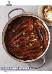 Rezept - Persische schwarze Auberginen - Healthy Vegan 01/2019