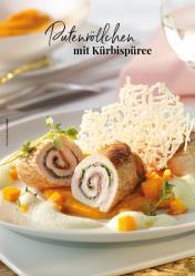 Rezept - Putenröllchen mit Kürbispueree - Simply Kreativ Extra – Leckere Ideen für den Thermomix® 01/19