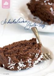 Rezept - Schokoladen-Yule-Log - Simply Kreativ Superfood 01/2019