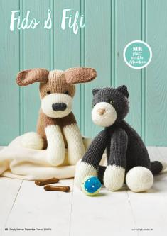 Strickanleitung - Fido & Fifi - Simply Stricken 01/2019