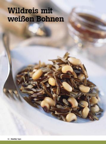 Rezept - Wildreis mit weißen Bohnen - Healthy Vegan Sonderheft - Vegan - 01/2019
