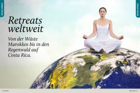 Retreats weltweit - Sportplaner Yoga-Guide Retreats 02/2019