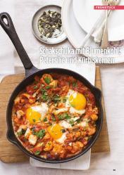Rezept - Schakschuka mit Blumenkohl-Petersilie und Kürbiskernen - Simply Kreativ Healthy Diät-Sonderheft - Keto-Diät - 01/2019