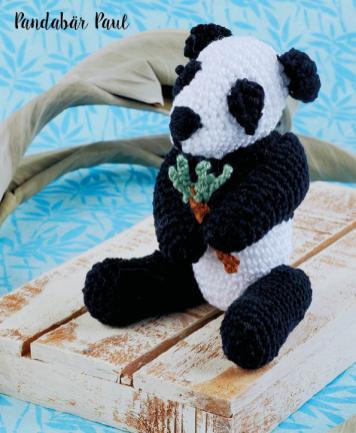Häkelanleitung - Pandabär Paul - Mini Häkeln Vol.6 – Teddybären 01/2019