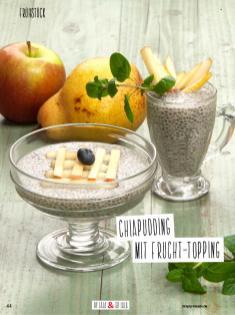 Rezept - Chiapudding mit Frucht-Topping - Simply Kochen Sonderheft Detox 01/2019