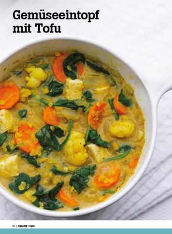 Rezept - Gemüseeintopf mit Tofu - Healthy Vegan Sonderheft - Vegan - 01/2019