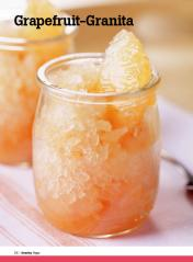 Rezept - Grapefruit-Granita - Healthy Vegan Sonderheft - Vegan - 01/2019