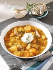 Rezept - Kartoffel-Austernpilz-Gulasch - Simply Kreativ Thermomix® Diät Special 01/2019