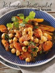 Rezept - Kichererbsen-Karottensalat mit Sesam - Simply Kreativ Thermomix® Diät Special 01/2019