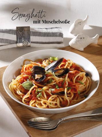 Rezept - Spaghetti mit Muschelsoße - Simply Kreativ Thermomix® Diät Special 01/2019