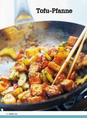 Rezept - Tofu-Pfanne - Healthy Vegan Sonderheft - Vegan - 01/2019