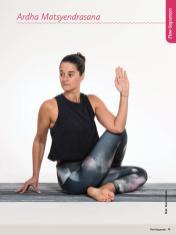 Yoga-Anleitung - Ardha Matsyendrasana - Sportplaner Yoga-Guide Retreats 02/2019