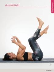 Yoga-Anleitung - Ausschuetteln - Sportplaner Yoga-Guide Retreats 02/2019