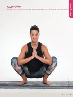 Yoga-Anleitung - Malasana - Sportplaner Yoga-Guide Retreats 02/2019