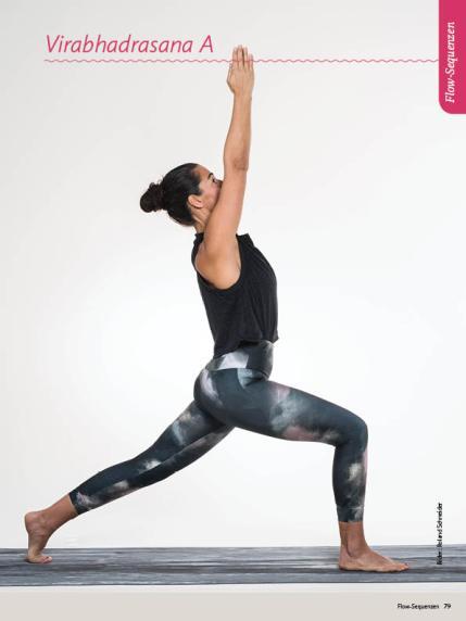 Yoga-Anleitung - Virabhadrasana A - Sportplaner Yoga-Guide Retreats 02/2019