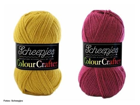 Scheepjes Colour Crafter senf und rot