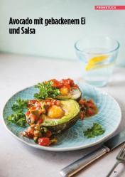 Rezept - Avocado mit gebackenem Ei und Salsa - Simply Kreativ Healthy Diät-Sonderheft - Keto-Diät - 01/2019