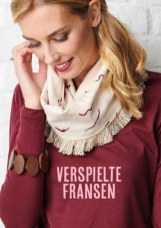 Nähanleitung - Verspielte Fransen - Simply Nähen 02/2019