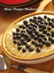Rezept - Blanc-Manger-Blaubeer-Tarte - Simply Kochen Sonderheft Zuckerfrei 01/2019
