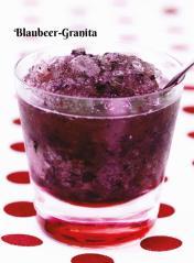 Rezept - Blaubeer-Granita - Simply Kochen Sonderheft Zuckerfrei 01/2019