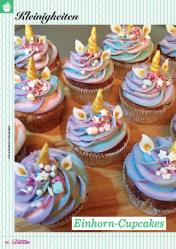 Rezept - Einhorn-Cupcakes - Das große Backen 02/2019