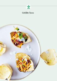 Rezept - Gefüllte Tacos - Healthy Vegan 02/2019