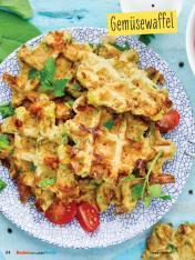 Rezept - Gemüsewaffel - Simply Backen mit und für Kinder - mit Nina Kämpf von Mamaaempf