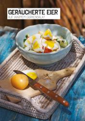 Rezept - Geräucherte Eier auf warmem Gurkensalat - Simply Kochen Sonderheft Paleo-Diät 01/2019