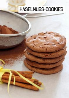 Rezept - Haselnuss-Cookies - Simply Kochen Sonderheft Paleo-Diät 01/2019