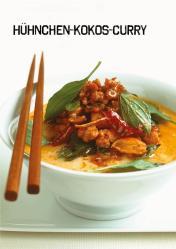 Rezept - Hühnchen-Kokos-Curry - Simply Kochen Sonderheft Paleo-Diät 01/2019