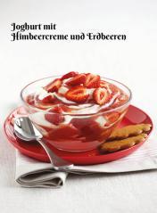 Rezept - Joghurt mit Himbeercreme und Erdbeeren - Simply Kochen Sonderheft Zuckerfrei 01/2019