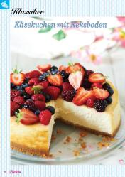 Rezept - Käsekuchen mit Keksboden - Das große Backen 02/2019