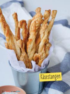 Rezept - Käsestangen - Simply Backen mit und für Kinder - mit Nina Kämpf von Mamaaempf