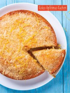 Rezept - Kokos-Apfelmus-Kuchen - Simply Backen mit und für Kinder - mit Nina Kämpf von Mamaaempf