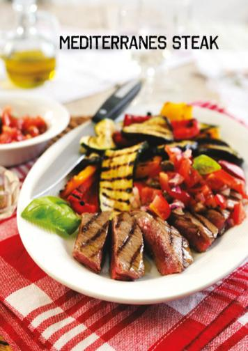 Rezept - Mediterranes Steak - Simply Kochen Sonderheft Paleo-Diät 01/2019