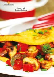 Rezept - Omelett mit Knoblauchpilzen - Healthy Vegan 02/2019