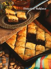 Rezept - Pistazien-Baklava - Simply Kochen Sonderheft Zuckerfrei 01/2019