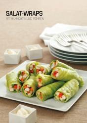 Rezept - Salat-Wraps mit Hähnchen und Möhren - Simply Kochen Sonderheft Paleo-Diät 01/2019