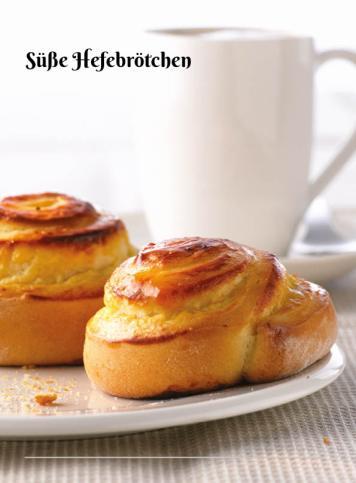 Rezept - Süße Hefebrötchen - Simply Kochen Sonderheft Zuckerfrei 01/2019