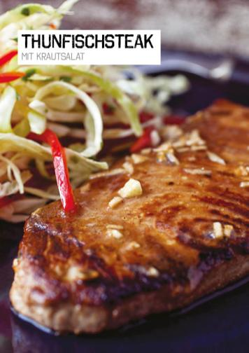 Rezept - Thunfischsteak mit Krautsalat - Simply Kochen Sonderheft Paleo-Diät 01/2019