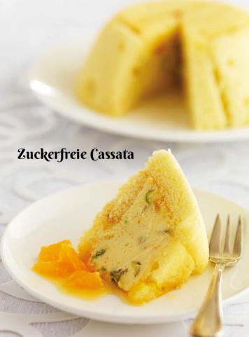 Rezept - Zuckerfreie Cassata - Simply Kochen Sonderheft Zuckerfrei 01/2019
