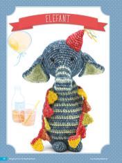 Häkelanleitung - Elefant - Fantastische Häkelideen Geschenkboten Amigurumi Vol. 22