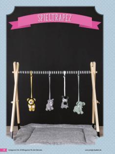 Häkelanleitung - Spieltrapez - Fantastische Häkelideen Niedliche Projekte für die Kleinsten Amigurumi Vol. 23