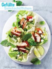 Rezept - Gefüllte Salatschiffchen - Simply Kochen Sonderheft - Frühlingssalate