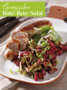 Rezept - Georgischer Rote-Bete-Salat - Simply Kreativ Extra – Leckere Ideen für den Thermomix® 02/2019